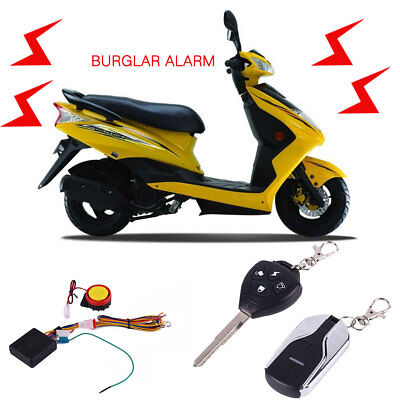 Universal Motorcycle Alarm Sirens Alert Syestem Motorcycle Remote Control