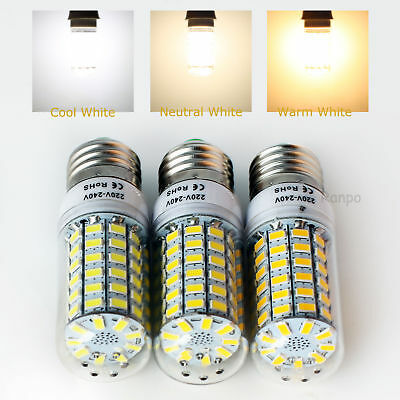 E14 E27 B22 G9 GU10 5W 7W 9W 12W 15W 25W 28W 5730 SMD LED Corn Light Bulb Lamp
