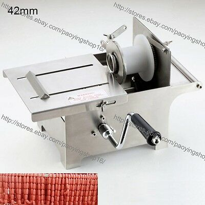 0-42mm Stainless Steel Hand Rolling Sausage Tying Knotting Machine