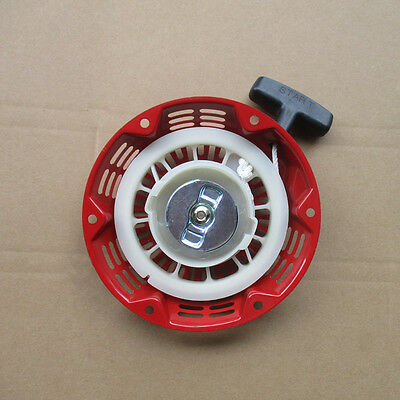 Recoil Start Assembly Fit Honda Gx160 5.5hp Gx200 6.5hp Engine Pull Starter Red