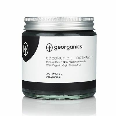 Georganics Activated Charcoal Natural Toothpaste - 120ml