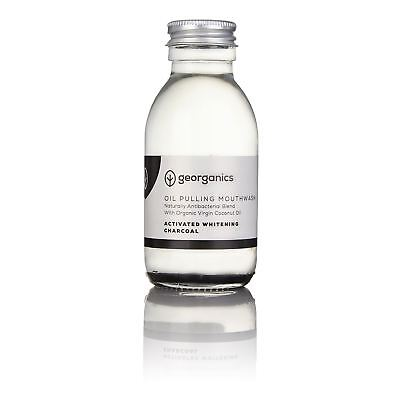 Georganics Activated Charcoal Antibacterial Mouthwash - 100ml