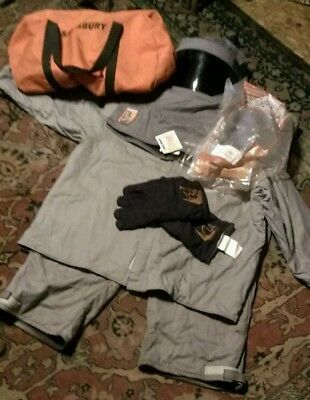 Salisbury Honeywell ARC FLASH Pro Wear Hood 3XL Jacket Bibs Gloves 40 CAL/CM2