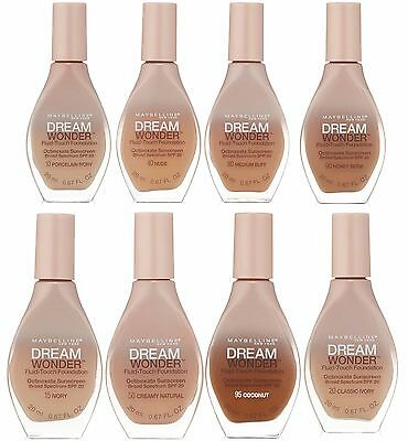 Maybelline New York Dream Wonder Fluid Touch Foundation Choose Your Colour New