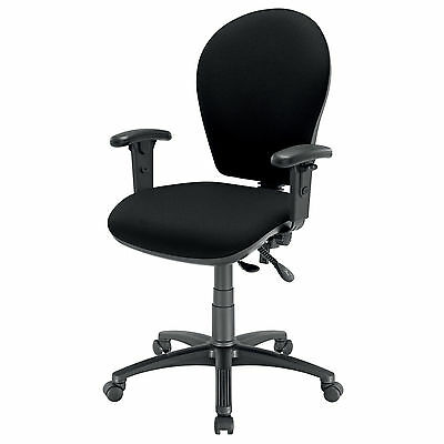 Energi-24 'posture Task' Office Operators Chair - Black