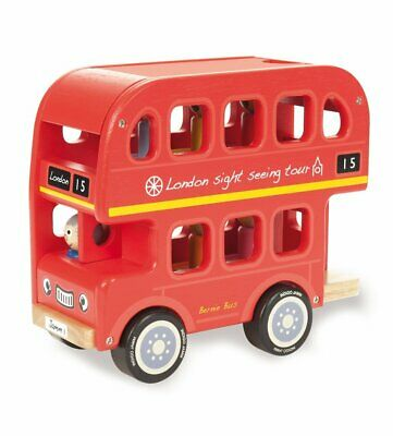 Indigo Jamm - Bernie's Number Bus Educational Wooden Toy