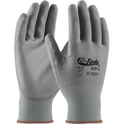 G-Tek NPG Polyurethane Coated Knit Nylon Work Gloves