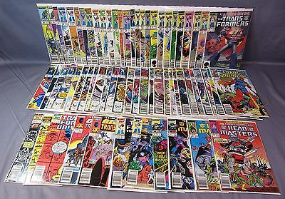 TRANSFORMERS #1-66 + MOVIE, HEADMASTERS & GI JOE (Big Run, 65 total) Marvel 1984