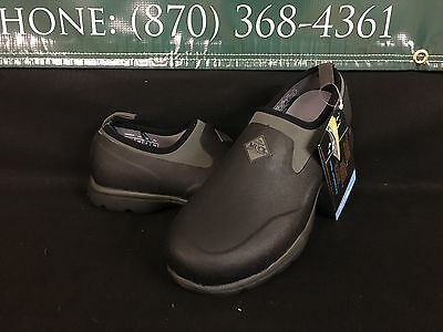 Muck Boot Excursion Pro Low Shoe Black Gunmetal Men Sizes FRLC-SOLID BRAND NEW