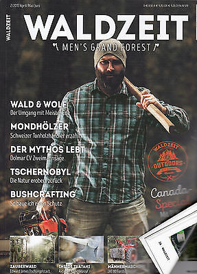 WALDZEIT Men's Grand Forest Nr. 2 Juni 2017 Das Männer-Outdoor Magazin, perfekt