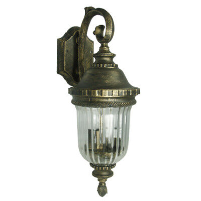 Golden Wall Lamps : Antique Golden Black Finish Weather Resistant Wall Lighting Fixture Outdoor Lamp CAD USD 22.96 ...