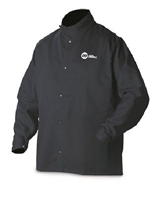 MILLER WELDING JACKET, 9oz. FR cotton  2XL 244754