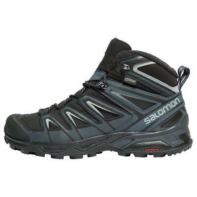 New Salomon X Ultra 3 Mid Gtx Mens Hiking Boots Outdoor Boots Black
