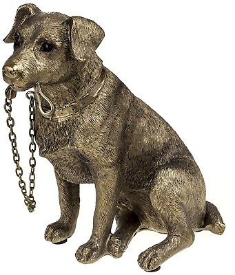 Jack Russell Terrier Dog Ornament - Reflections Bronze Finish Walkies Dogs By