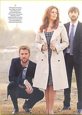 Lady Antebellum, Country Music Stars in 2012 Magazine Print Photo Clipping