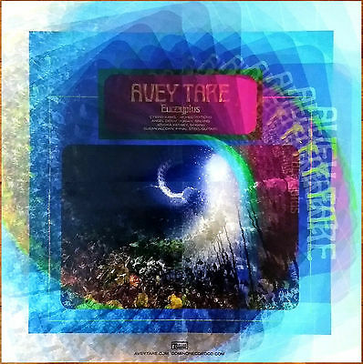 AVEY TARE Eucalyptus 2017 Ltd Ed LARGE Poster + FREE Stickers! ANIMAL COLLECTIVE
