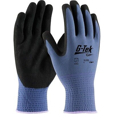 G-Tek GP Nitrile Coated Knit Nylon Work Gloves