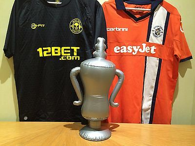 Inflatable Football Sports Trophy Cup - Suitable for FA Cup & Darts fans!
