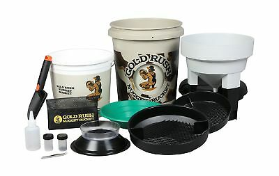 Gold Rush Nugget Bucket - Gold Panning Kit As Seen On Shark Tank Camouflage New