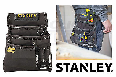Stanley Leather Nail Hammer Pouch Tool Apron & Hammer Loop STA180114 STST1-80114