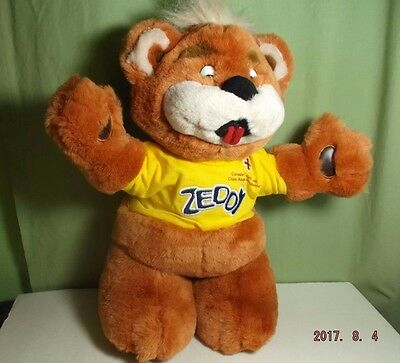 ZELLERS Mascot ZEDDY BEAR CANADIAN RED CROSS EDITION -  RARE & Hard To Find
