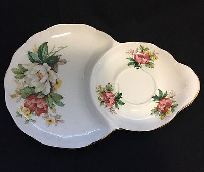 Hammersley and Co Vintage snack set plate England