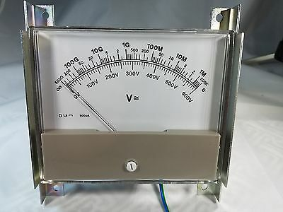 "200 Ua Panel Meter With Bracket. 4 3/8""- 3 3/4"" Meter Only Measurement"