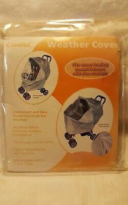 Combi Weather Cover Stroller Accessory Small 7210-35 Fits Models 2472 Series