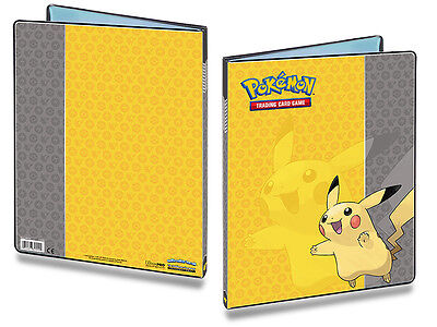 Pikachu Pokemon 9-Pocket Portfolio/Folder A4 Holds 180 Cards Doubled BRAND NEW