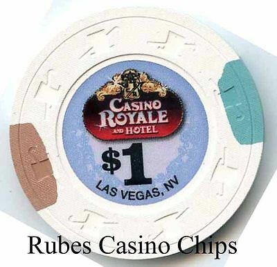 1.00 Chip from the Casino Royale in Las Vegas Nevada