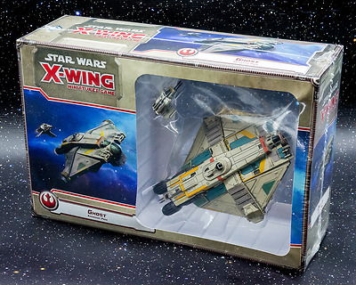 Star Wars X-Wing Miniatures Game Ghost Expansion - New - Aus Stock