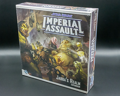 Star Wars Imperial Assault Game Jabba's Realm Expansion - Aus Stock