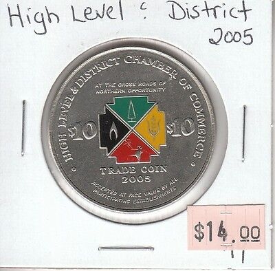 High Level & District Alberta Canada - Trade Dollar - 2005
