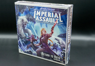Star Wars Imperial Assault Return to Hoth Expansion - New - Real Aus Stock!