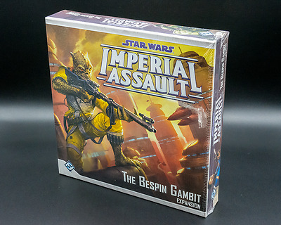 Star Wars Imperial Assault The Bespin Gambit Expansion - New - Aus Stock