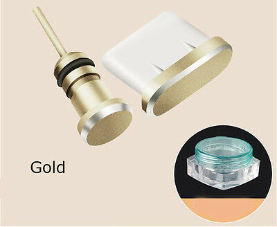 Anti Dust USB Type C Port Plug Stopper for Samsung Galaxy S8 Plus Moto Z Gold