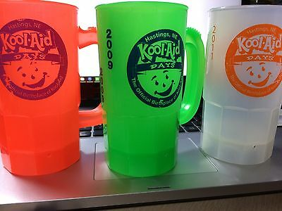Rare Kool-Aid Days Collectible Cups lot Hastings Celebration 2009/2011 Promo