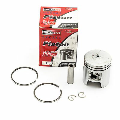 Taiwanese Chinese Scooter PISTON KIT 41mm 49cc 50cc 2 Stroke Fit Automatic Moped