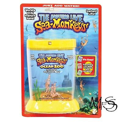 Sea Monkeys Ocean Zoo Yellow   *  Brand New