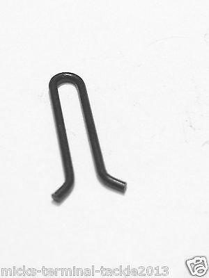 LEAD MAKING CARP FISHING MATT BLACK LEAD WEIGHT MOULD EYE LOOPS CLIPS  x 1000