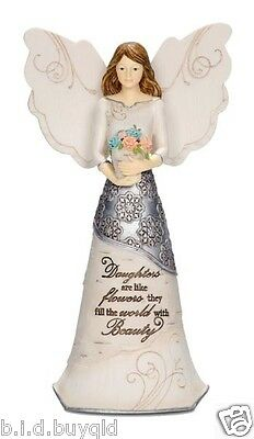 Angel Daughter Figurine Inspirational Statue Keepsake Gift -Elements by Pavilion