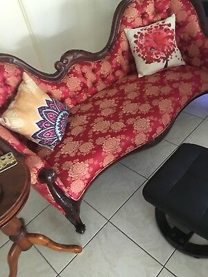 Antique Chaise And Armchairs