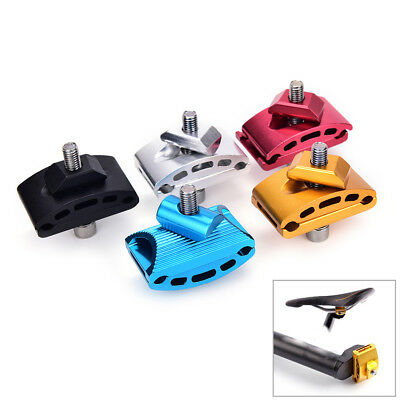 1pc Mountain Bike Seatpost Head Saddle Pipe Head Bicycle Screw Seat Tube ChuckDS