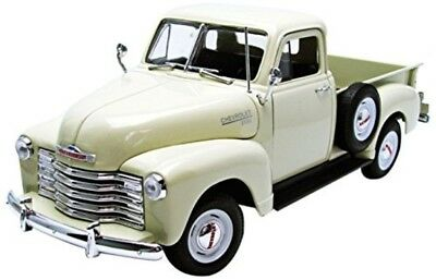 """""""Chevrolet 3100 Pick-Up"""" Toy Vehicle Cream 1:18 Scale High Detail Vehicles Games"""