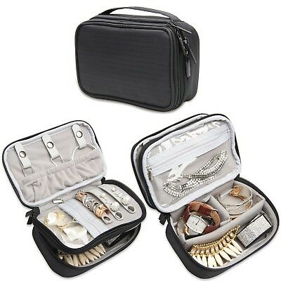 Waterproof Travel Bag / Case / box Storage for Jewellery Separate compartments