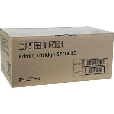 Genuine Ricoh Sp1000E Black Laser Toner Cartridge (413196)