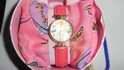 35th Anniversary BARBIE Pink Watch & Scarf by Fossil Limited Edition MSRP$75 NIB