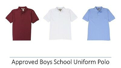Approved Boys School Uniform Polo Shirt