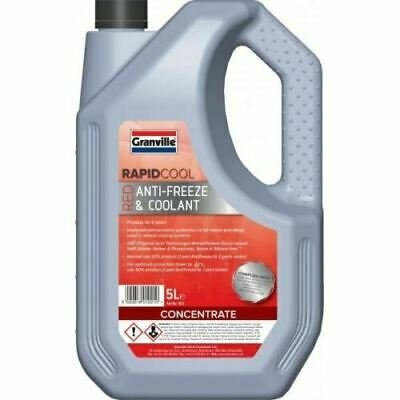 AutoChem Longlife Car Red AntiFreeze & Summer Coolant Oat Concentrate 5 Litre