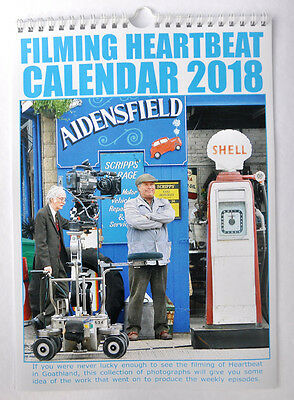 FILMING HEARTBEAT CALENDAR 2018 photos of filming tv series Heartbeat, Goathland